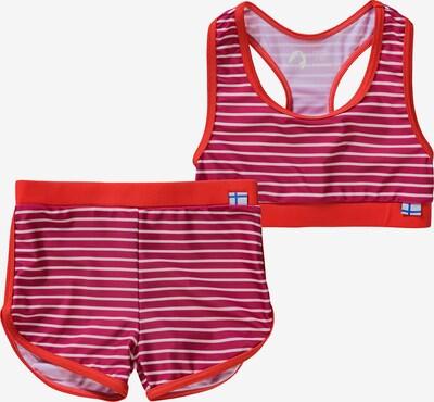 FINKID Bikini 'Luoto' in pink / rot, Produktansicht