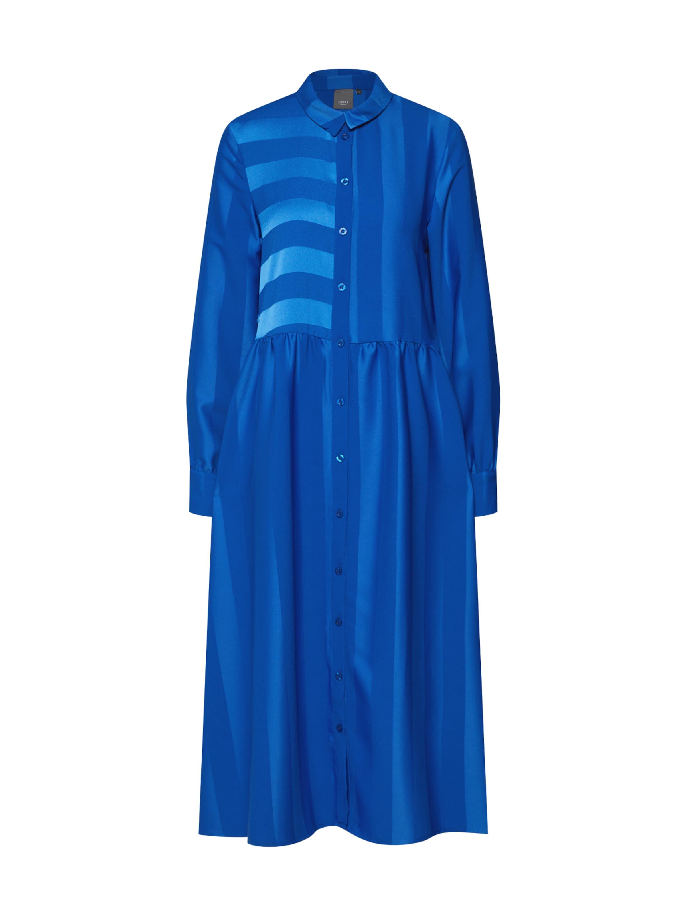 Robe Cobalt Ichi chemise Bleu En lKJcT3F1