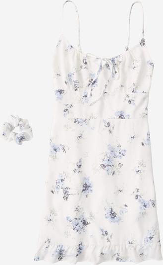 Abercrombie & Fitch Sukienka 'Pami' w kolorze jasnoniebieski / białym, Podgląd produktu