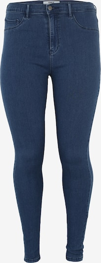 ONLY Carmakoma Jeans 'Carstorm push up hw sk mbd noos' in blue denim, Produktansicht
