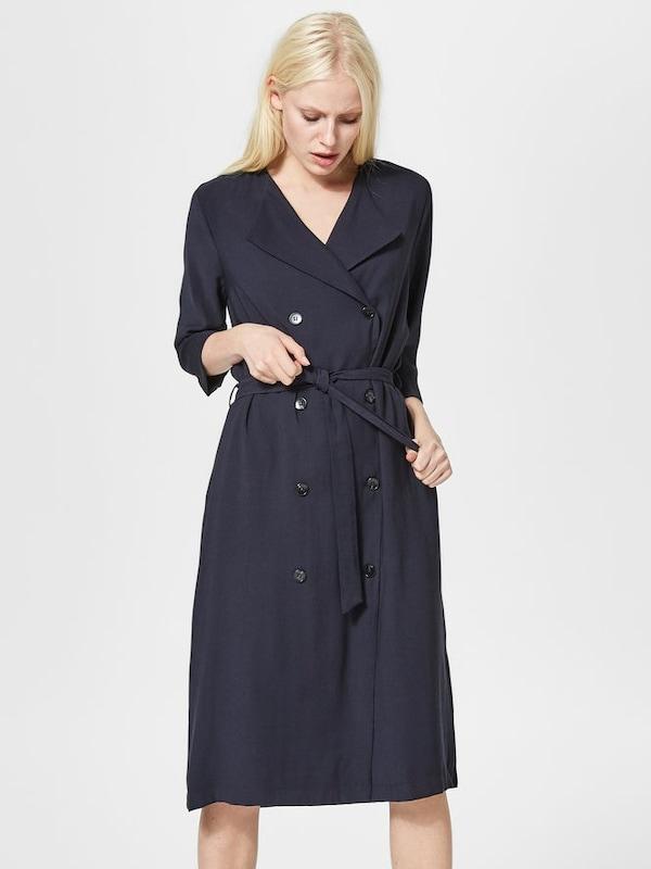 selected femme kleid hemd in blau about you. Black Bedroom Furniture Sets. Home Design Ideas