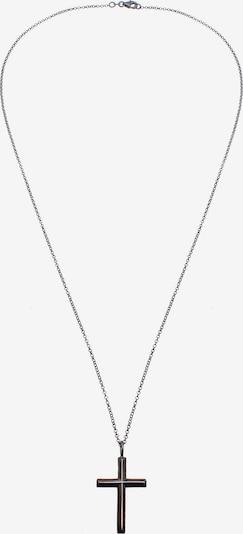 KUZZOI Halskette 'Kreuz' in silber, Produktansicht