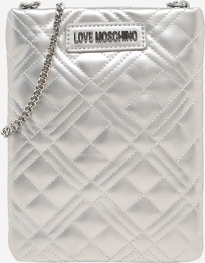 Love Moschino Umhängetasche in silber, Produktansicht