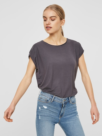 AWARE by Vero Moda T-Shirt 'VMAVA' in hellgrau: Frontalansicht