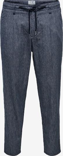 Only & Sons Pantalon en bleu foncé, Vue avec produit