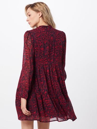 Farina Opoku Sukienka koszulowa 'SANJIRA' w kolorze ciemnoczerwonym: Widok od tyłu