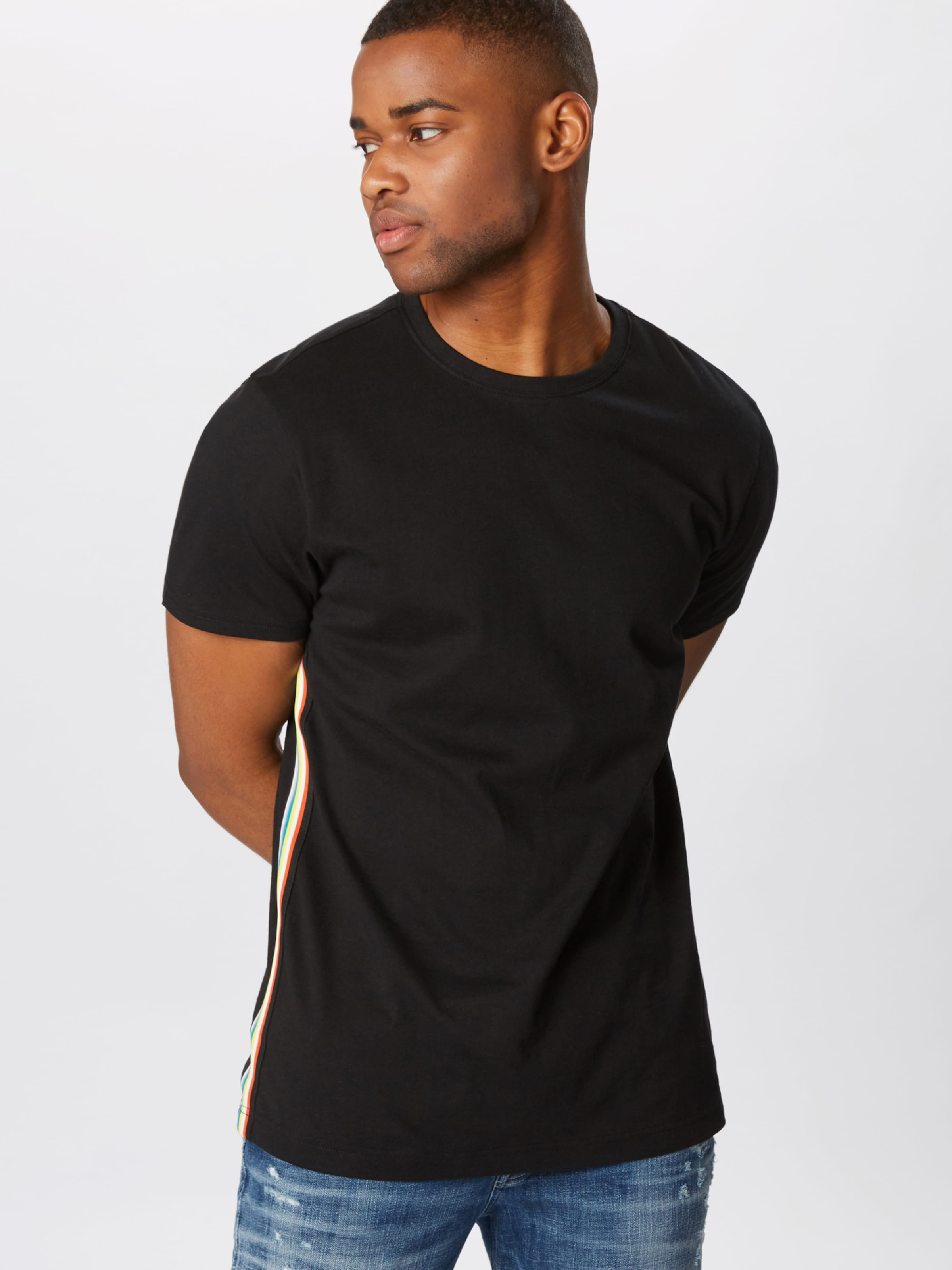 shirt T En Urban Classics Noir XZOiuTPk