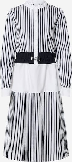 BOSS Šaty 'Cinchi' - modrá / bílá, Produkt