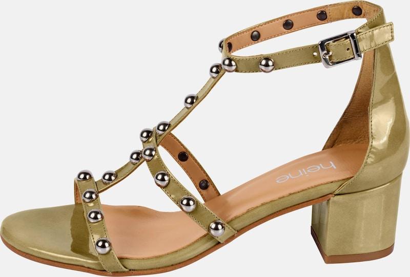 heine Sandalette mit Nieten Günstige und langlebige Schuhe