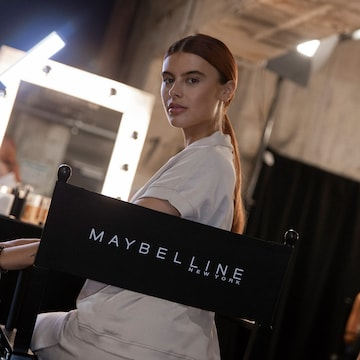 with Maybelline