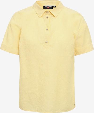 Finn Flare Poloshirt in gelb, Produktansicht