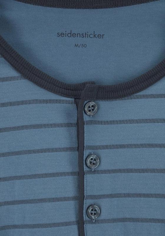 SEIDENSTICKER Pyjama lang mit Streifen