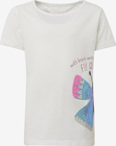 TOM TAILOR T-Shirt in weiß, Produktansicht