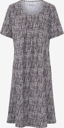 Green Cotton Kleid in braun / weiß, Produktansicht
