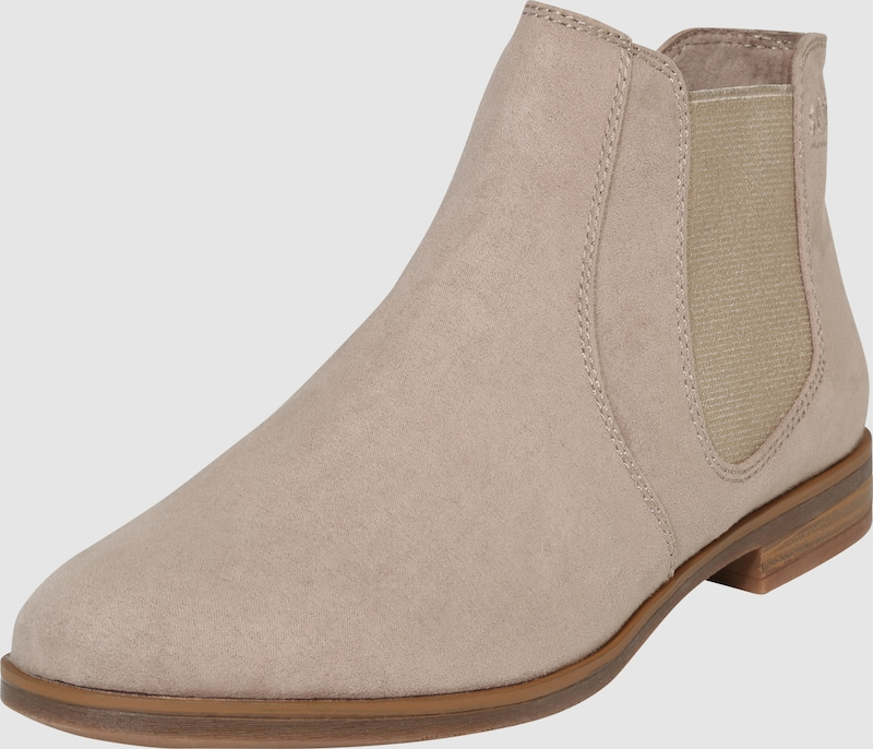 s.Oliver RED LABEL Chelsea-Boots aus softem Textil