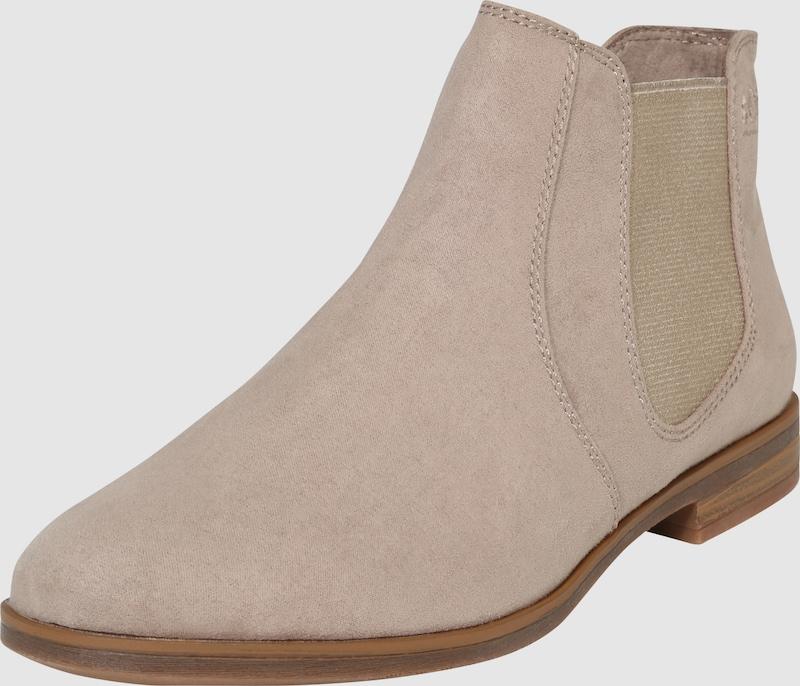 sOliver RED LABEL | Chelsea-Boots aus softem Textil