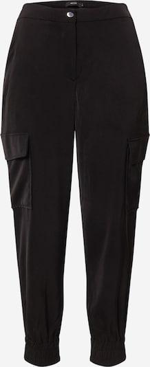 VERO MODA Pantalon cargo 'PAULA' en noir, Vue avec produit