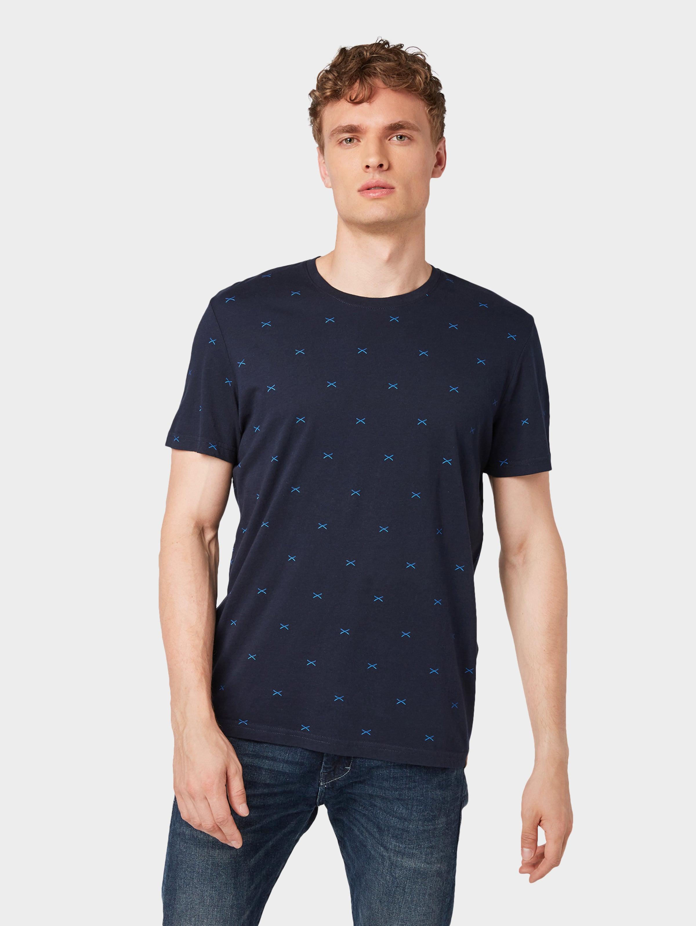 Tailor Tom Tom Nachtblau Shirt In nOmvN80wy