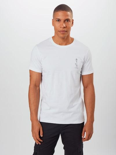 Iriedaily Shirt ' Rosebong' in de kleur Zwart / Wit: Vooraanzicht
