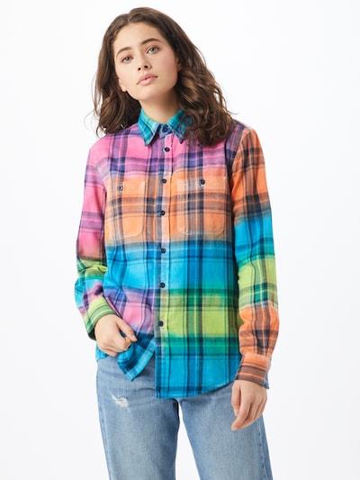 POLO RALPH LAUREN Bluse in mischfarben, Modelansicht
