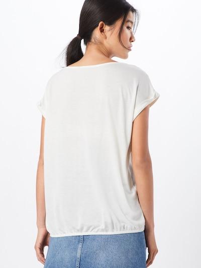 TOM TAILOR Shirt in offwhite: Rückansicht