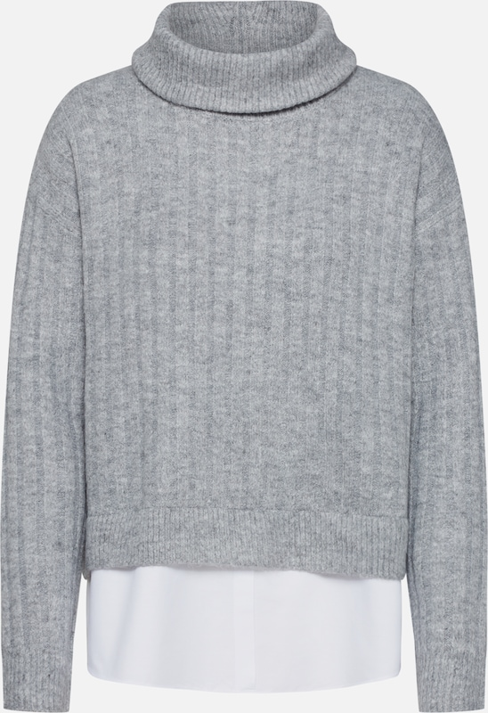 NEW LOOK Pullover in hellgrau, Produktansicht