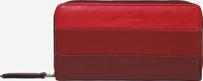 TOM TAILOR Geldbörse 'Ellen Wallet' in blue denim / rot / weinrot, Produktansicht