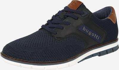 bugatti Chaussure à lacets 'Sandman' en bleu foncé, Vue avec produit