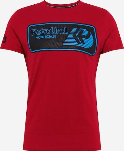 Petrol Industries Majica | modra / rdeča / črna barva, Prikaz izdelka