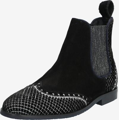 MELVIN & HAMILTON Stiefelette 'Giulia 2' in schwarz / silber / weiß, Produktansicht