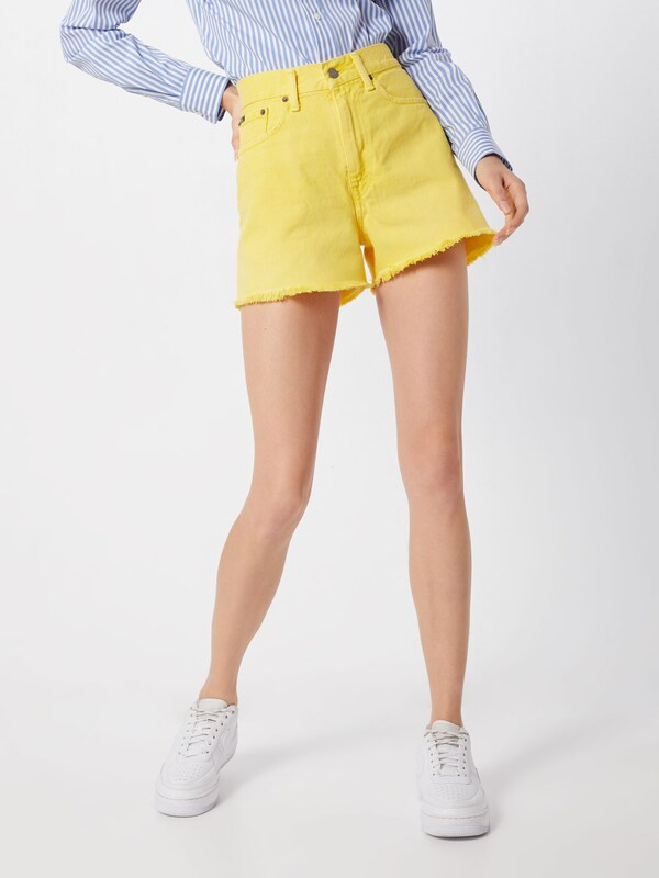 POLO RALPH LAUREN Shorts 'SHAWE HR SH-SHORT' in gelb, Modelansicht