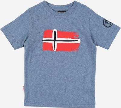 TROLLKIDS Funkční tričko 'Oslo' - chladná modrá / červená, Produkt