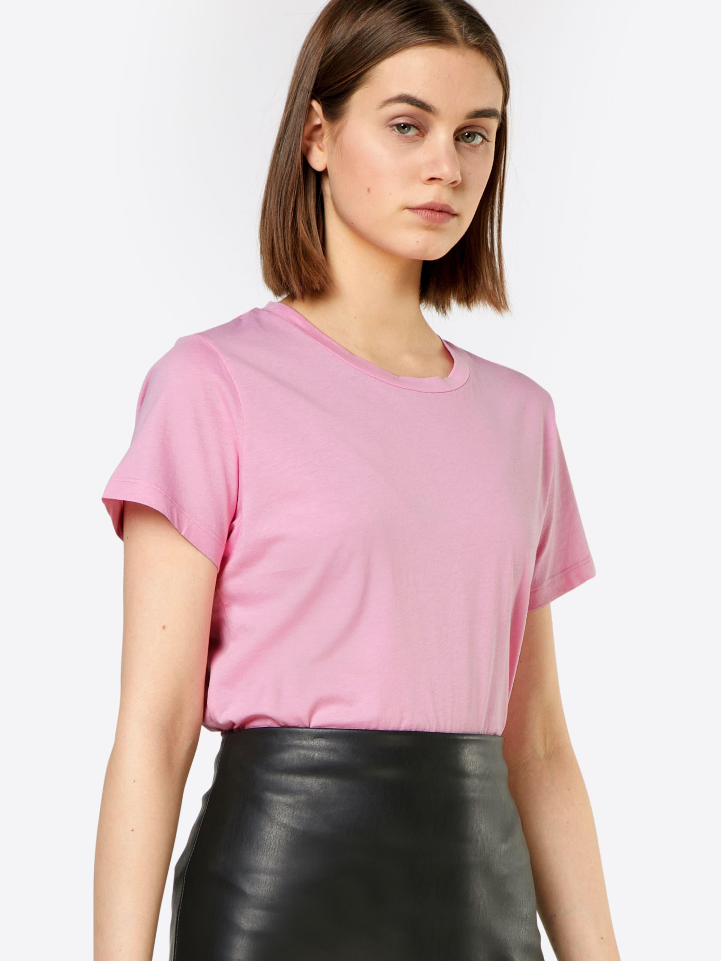 Verkauf Wie Viel Billig Verkauf Finden Große Samsoe & Samsoe T-Shirt 'Solly solid' Die Besten Preise Günstig Online Billigshop ABf1A