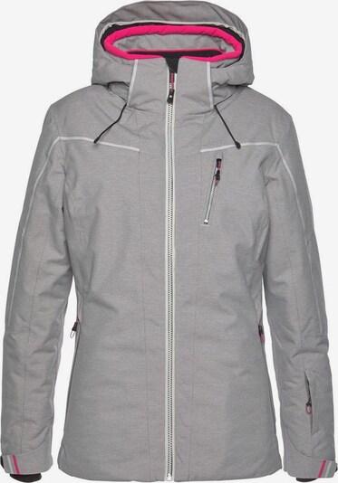 KILLTEC Skijacke in graumeliert, Produktansicht