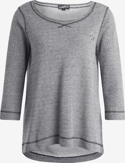 DREIMASTER Sweatshirt in graumeliert, Produktansicht