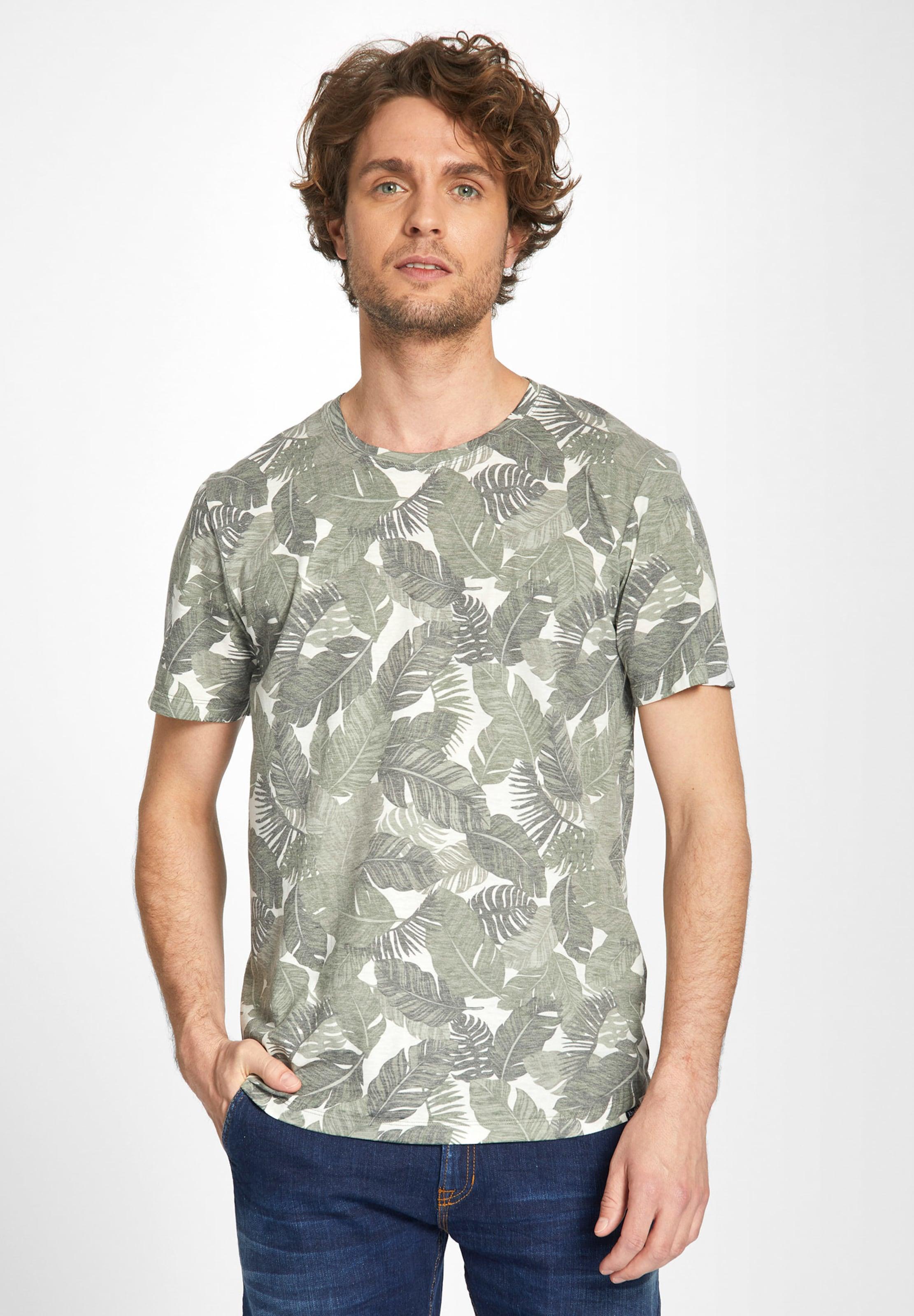 Khujo GrauGrasgrün Shirt Weiß 'tristan' In WdCorxBe
