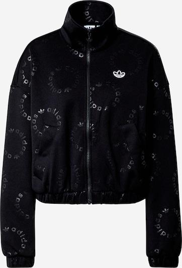 ADIDAS ORIGINALS Between-season jacket 'Track Top' in black, Item view