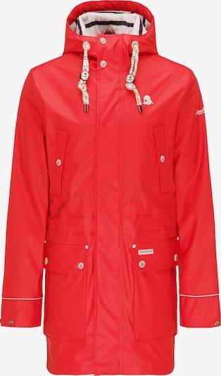 Schmuddelwedda Regenjacke in rot, Produktansicht