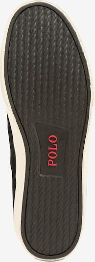 POLO RALPH LAUREN Sneakers laag 'SAYER' in de kleur Zwart: Onderaanzicht