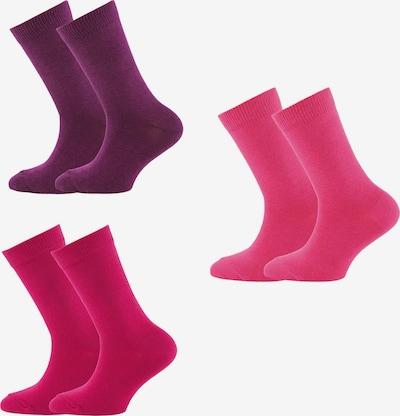 Șosete EWERS pe prună / roz / roz deschis, Vizualizare produs