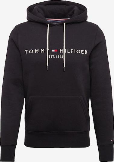 TOMMY HILFIGER Mikina - černá / bílá, Produkt