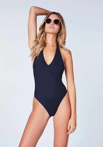 CHIEMSEE Badeanzug in schwarz, Modelansicht