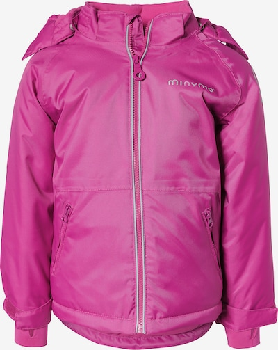 MINYMO Winterjacke 'Snow Oxford' in pink: Frontalansicht