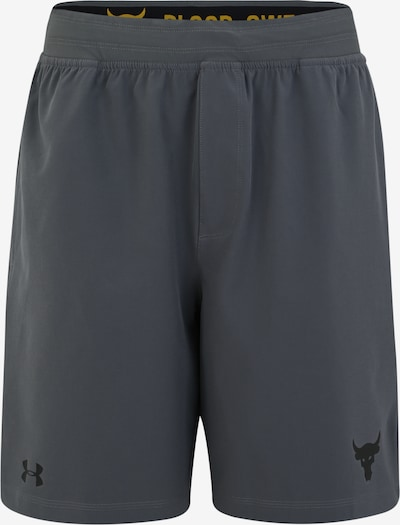 Pantaloni sport 'PROJECT ROCK TRAINING SHORT' UNDER ARMOUR pe gri, Vizualizare produs