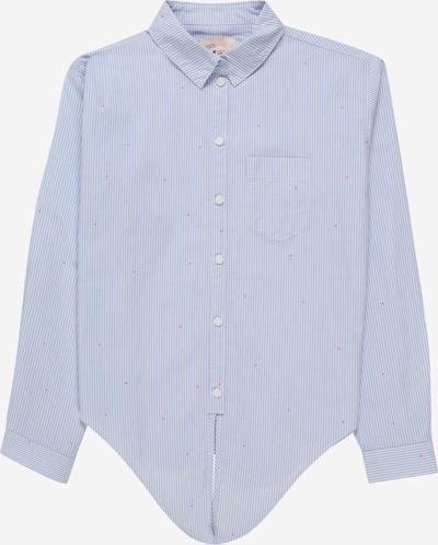 KIDS ONLY Bluse 'KONANNE' in blau / weiß, Produktansicht