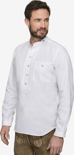 STOCKERPOINT Klederdracht overhemd 'Renus2' in de kleur Wit, Productweergave