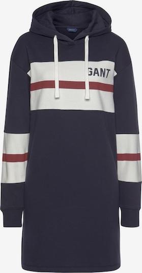 GANT Sweatkleid in marine / merlot / weiß, Produktansicht