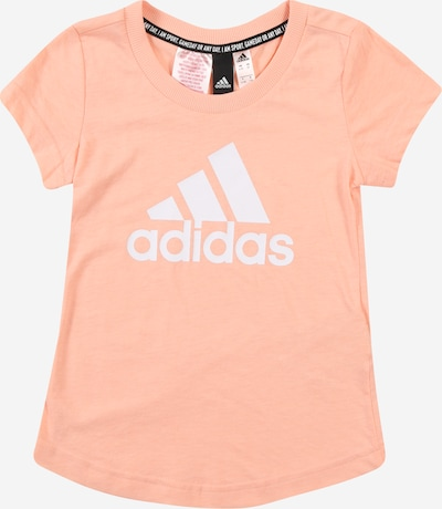 ADIDAS PERFORMANCE Shirt 'Must Have Batch Of Sport' in apricot / altrosa / weiß, Produktansicht
