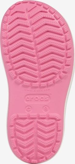 Crocs Bottes en caoutchouc 'Crocband Rain K' en rose: Vue de dessous