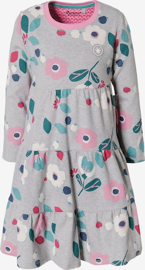 SIGIKID Kleid in grau / petrol / rosé, Produktansicht